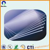 Il plexiglass acrilico trasparente ha lanciato lo strato acrilico