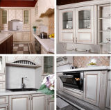 2015 Hangzhou Welbom Armários de cozinha de pintura de puro branco modelos simples