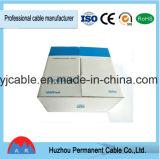 Cable de Ethernet de la categoría 5 del cable de LAN Cat5e UTP 4pr 24AWG