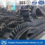 transportband van de Zijwand van 500mm de Hoge Rubber