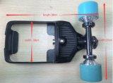 Elektrisches Skateboard Longboard vierradangetriebenzusatzgerät mit entfernter Batterie
