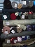 Tissu de coton de prix usine de textile Instock