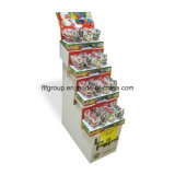 ODM Cmyk Papel de imprenta Stands Pop Displays Pantalla de suelo Display Cardboard Displays