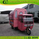 Desmontagem fácil mobile trailer alimentar com cabine