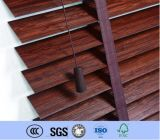 Ciechi di rullo orizzontali elettrici personalizzati parasole domestico di legno di Venitian della decorazione
