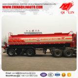 3 ESSIEUX 18cbm l'acide sulfurique pétrolier de transport semi-remorque