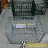 Cestino saldato o esagonale della gabbia di pietra della rete metallica di Gabion