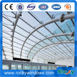 Glaszwischenwand für Handelsgebäude und Wohnhaus