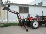 Retroexcavadora excavadora de 3 puntos del tractor cargador de compartimiento