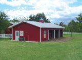 軽い鉄骨構造の小屋の建物(KXD-SSB1276)