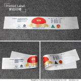 China-Fabrik-Zoll gedruckter Matratze-Kennsatz für Texile
