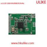 Module van de Zendontvanger van de Module van de Zendontvanger 915MHz van de Module 868MHz van het Netwerk van Sigfox van Cc1120 Narrowband