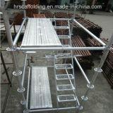Planches galvanisées perforées d'armature d'échafaudage