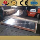 La fabricación 6063 6061 7075 5754 1060 3003 marcó con cuadros la placa de la aleación de aluminio