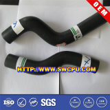 Boyaux hydrauliques spiralés tressés en caoutchouc/boyau flexible d'expansion de couplage de boyau/tube de coude