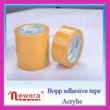 Gelbes Papierkasten-verpackenband-Verpackungs-Band