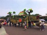 Giocattolo di plastica dell'albero dei bambini esterni del campo da giuoco grande