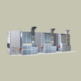 Cabine de jet industrielle 20000-5000-5000