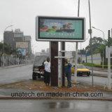 Al aire libre Unipole LED Backlit Scrolling Lightbox Publicidad