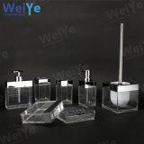 PS accesorios de baño con el rectángulo el cuadrado (WY1002 transparente)