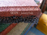 Teja cerámica juegos al aire libre de goma del piso (GT0200)