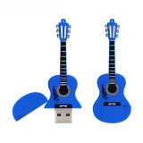 Azionamento della penna di musica del fumetto personalizzato azionamento dell'istantaneo del USB della chitarra del PVC