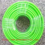 물 기름 분말 운반을%s 유연한 물결 모양 PVC 흡입관