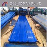 SGCC CGCC Dx51d Feuille de toit en tôle ondulée à longue portée