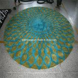 ウールのカーペットの円の敷物