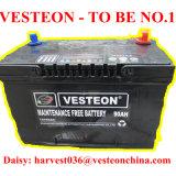 12V de plomo secan la batería de coche cargada N120