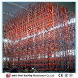 Défilement ligne par ligne en acier lourd de faisceau de palette de mémoire Chine d'entrepôt neuf de qualité de 2016