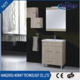 Module de salle de bains debout de vanité de mélamine d'étage moderne