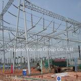 Subestação de energia Moldura de aço para eletricidade