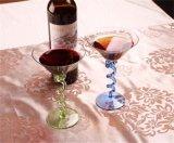De Drinkbeker van het glas, de Kop van het Glas voor Champagne, Whisky, Cocktail en Martini