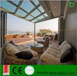 Popular Aluminum Sunroom with Large Folding Dor