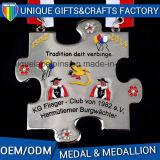 Медальон выдвиженческих изготовленный на заказ медалей металла перекрестный
