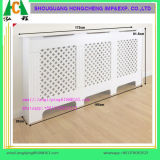 Housse de radiateur en MDF à grande taille en blanc