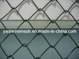 alta calidad revestida de cadena revestida del precio de la cerca Galvanized/PVC de la conexión del PVC de 75*75m m mejor