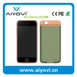 Cas personnalisé de pouvoir de couleurs pour l'iPhone 6s/6plus 2500mAh avec du ce, FCC, RoHS