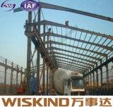 Здание рамки стальной структуры полуфабрикат с конструкцией панели Sanwich