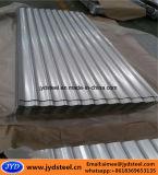 Strato ondulato rivestito del tetto dello zinco di alluminio