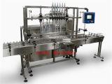 Macchina di rifornimento dell'olio da tavola dell'olio di oliva dell'olio da cucina con la catena d'imballaggio di contrassegno di coperchiamento