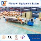 Imprensa de filtro elevada da câmara de Effiencecy para a água de esgoto de Printing&Dyeing