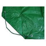 Encerado verde durável tratado UV da jarda para a coberta