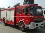 Carro extintor del motor del petrolero de la espuma de la casilla doble de Dongfeng 4X2