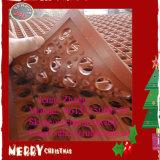 Honig gekämmte Entwässerung-Hotel-Küche-Gummifußboden-Matte, Gummimatte