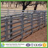 6つの柵の携帯用楕円形の牛ヤードのパネル