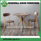 純木棒家具の表および椅子