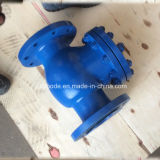 Válvula de verificação silenciosa Pn16 do ferro de molde BS5153