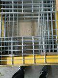 Acero rejilla de barras utilizado para la fabricación de tamices Tec-T6 huellas de escalón